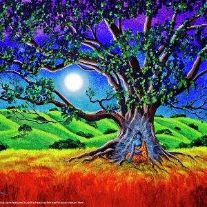 buddha-healing-the-earth-laura-iverson